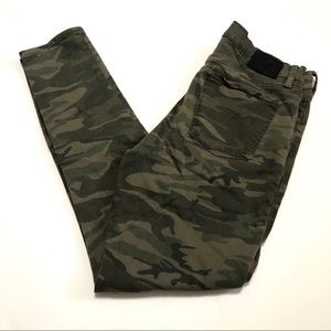 Lucky Brand Brooke Jegging Camouflage Jean S 10